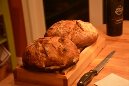 My grandmother's homemade bread for Christmas Dinner