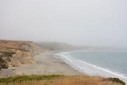 Drake's Beach: Coastline
