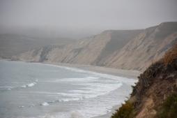 Drake's Beach: Cliffside